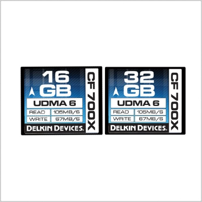 Delkin 700X Compact Flash UDMA 6 Memory Cards (16GB/ 32GB)