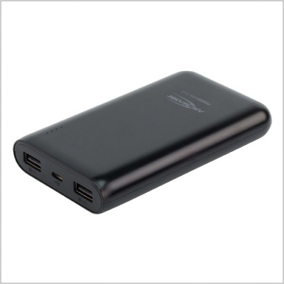 Ansmann Powerbank 10,800mAh Compact Rechargeable USB Battery Pack
