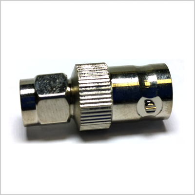 Pinknoise BNC Female to SMA Male Adaptor