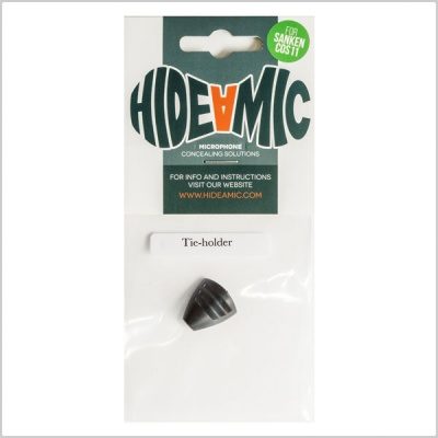 Hide-A-Mic Tie-Holder Microphone Mount for Sanken COS11
