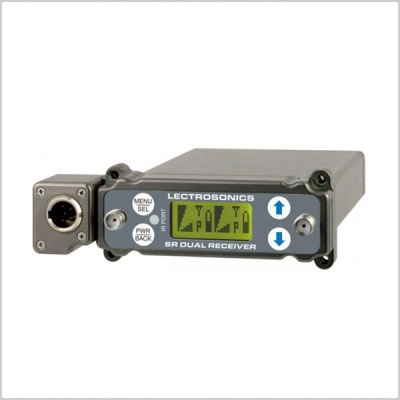 Lectrosonics SRC5P Dual-Channel Slot Mount ENG Receivers