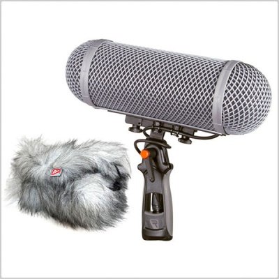 Pinknoise Custom Rycote Windshield Kit 2 with Connbox 4 and Duo Lyre 68 Shore (19/34)