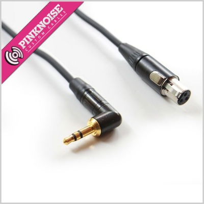 Pinknoise TA3 to Right Angle Mini Jack Cable