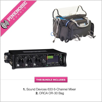 Sound Devices 633 with Orca OR-30 bundle