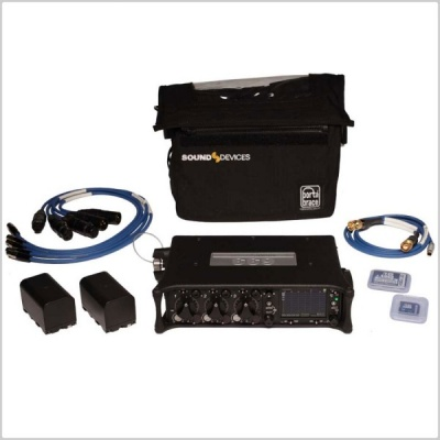 Sound Devices 633 6-CH Mixer Kit Incl. Power Supply