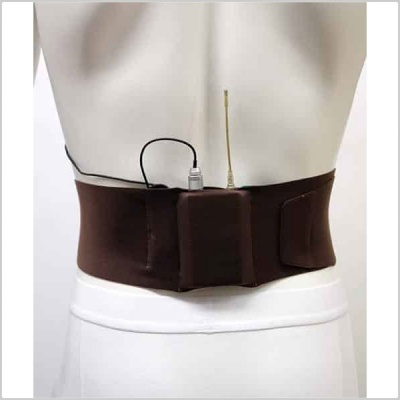 URSA Straps Large Waist Transmitter Belt (Small/Large Pouch)