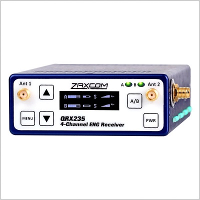 Zaxcom QRX235 4-Channel ENG Receiver