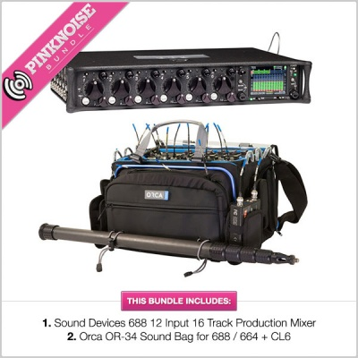 Sound Devices 688 w/ Orca OR-34 Bundle