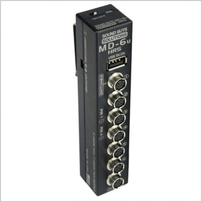 Sound Guys Solutions MD-6U HRS 5+ Power Distribution Unit