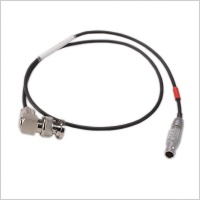 Pinknoise Custom 5-Pin Lemo to BNC (RA) T/C Out 60cm Cable for Timecode