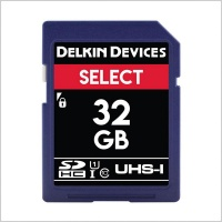 Delkin Devices Select SDHC 163X V10 SD Card (32GB)