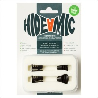 Hide-A-Mic COS11 Lavalier Microphone Holders (Complete Set of 4)