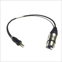 Sennheiser Transmitter Input Cable 45cm 3.5mm to 3-pin XLR Female Cable (Line)