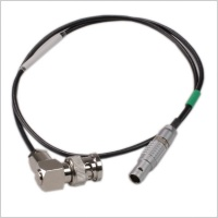 Pinknoise Custom BNC to 5-Pin Lemo T/C In 60cm Cable for Timecode