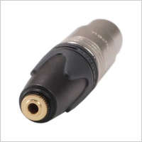 Pinknoise Custom 3.5mm Mini-Jack to XLR Converter Barrel (Select Option)