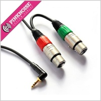 Pinknoise XLR to 3.5mm stereo -45db cable