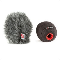 Rycote Baseball Compact Windshield Combo with Windjammer