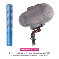 Schoeps Mini CMIT with Rycote Small Cyclone Bundle