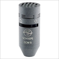 Schoeps CCM 5 Switchable Omni/Cardioid Compact Microphone