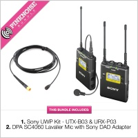 Sony UWP-D11 Kit With DPA SC4060 Lavalier Mic