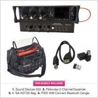 Sound Devices 633 w/ Pinknoise 3-Channel Expander, K-Tek Small Stingray Bag & FREE WM-Connect