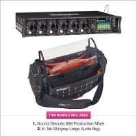 Sound Devices 688 Mixer Recorder with K-Tek Stingray Large Bundle