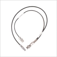 Timecode Cable 5 pin lemo to 2 x BNC in/out