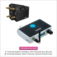 Timecode Systems UltraSync ONE & :Wave Timecode Bundle