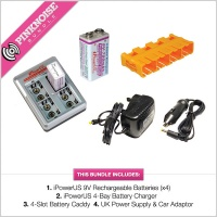 iPower US 9V Battery Charger Kit