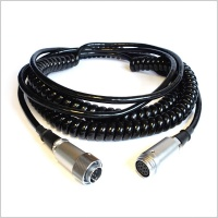 Pinknoise Umbilical Cable 10-Pin Hirose (Coiled)
