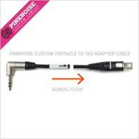 Pinknoise Custom Tentacle To TA3 Adaptor Cable