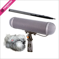 Used Rycote Kit 4 and Sennheiser 416