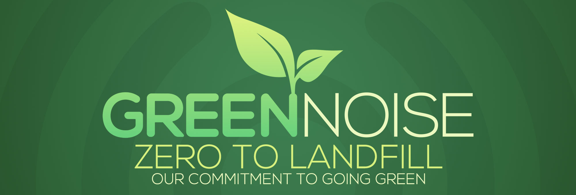 Our Commitment to Going Green!