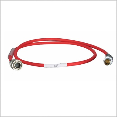Ambient LEP External Lockit Power Cable Hirose to 5-Pin Lemo