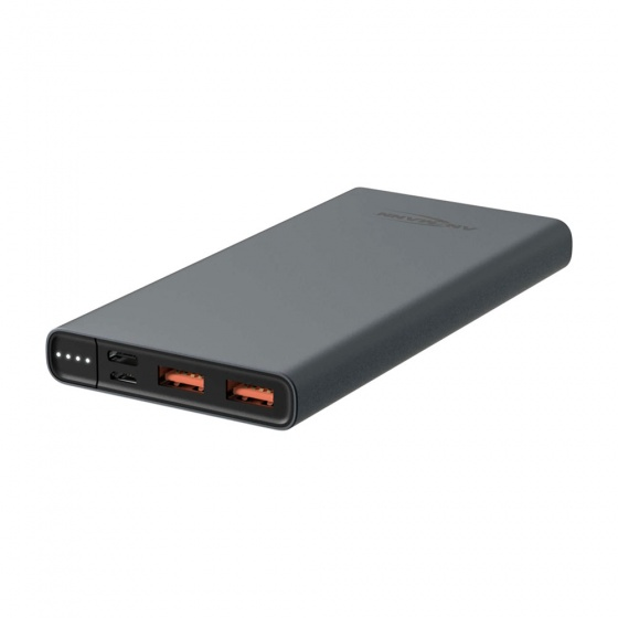 Ansmann Powerbank 10Ah Type-C 18W PD Slim USB-A / USB-C Powerbank
