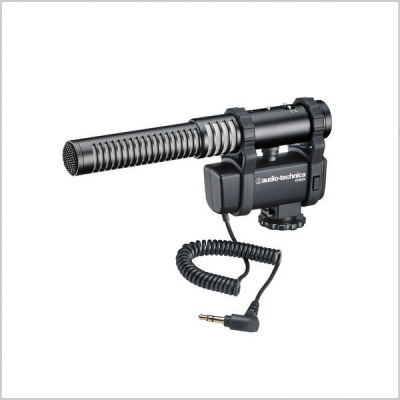 Audio Technica AT 8024 Stereo/Mono Camera-Mount Microphone
