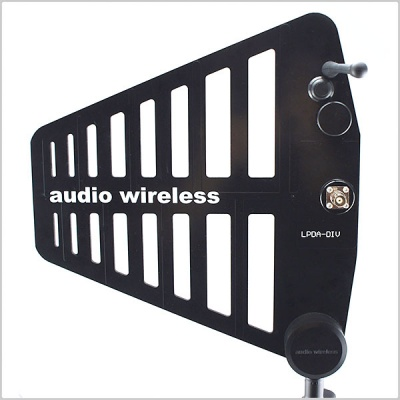Audio Wireless LPDA-DIV Diversity Antenna