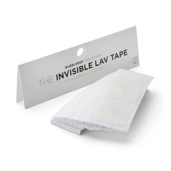 Bubblebee Invisible Lav Tape (120 pack)