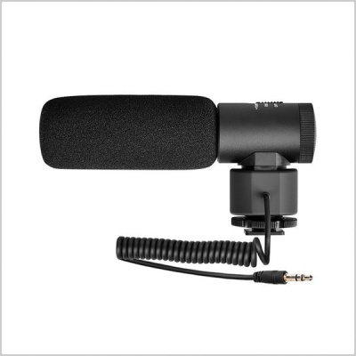 Comica CVM-V20 On-Camera Super-Cardioid Shotgun Microphone