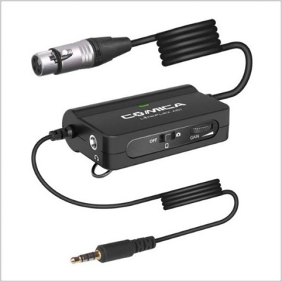 Comica Linkflex XLR Interface Preamp Audio Adapter