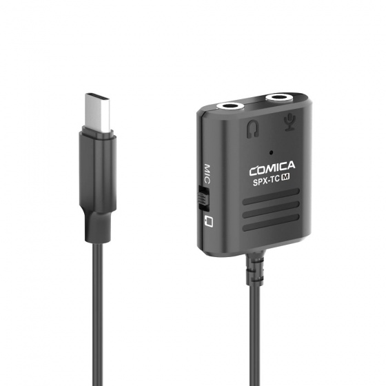 Comica SPX-TC-M Multi-Functional 3.5mm to USB-C Audio Cable Adapter