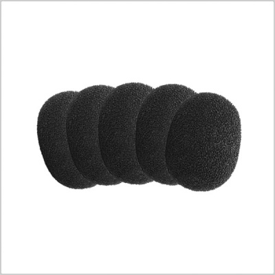 DPA DUA0560 Foam Windscreen for DPA Microphones 4060, 4061, 4062, 4063, 4071 - 5 Pack (Black)