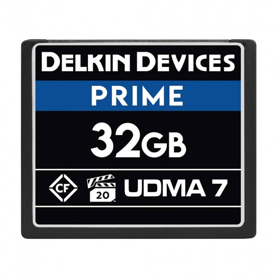 Delkin 1050X UDMA-7 Compact Flash Memory Card (32GB) - B-Stock