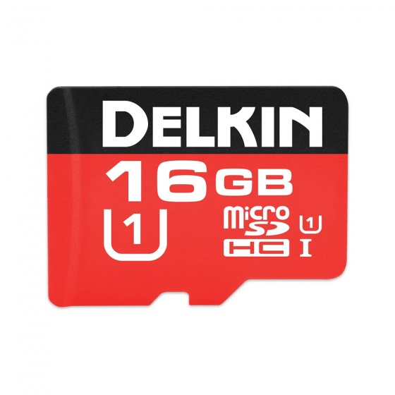 Delkin Devices 500X Micro SDHC Memory Card (16GB)