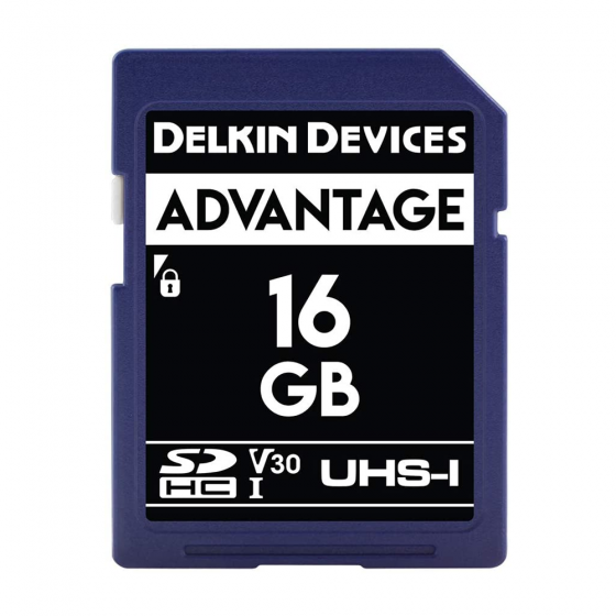 Delkin Devices Advance SDHC 633X UHS-I Memory Card (16GB)