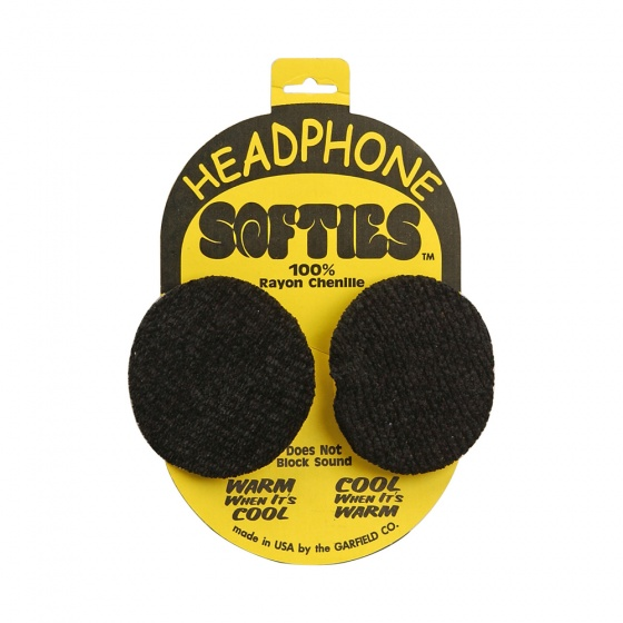 Garfield Headphone Softies - Black (Various Sizes)