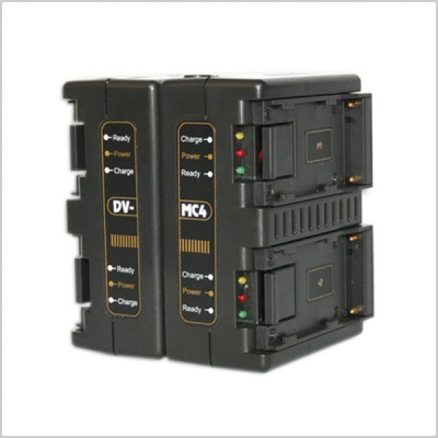 Hawkwoods DV-MC4 4-Channel Simultaneous Charger for DV Style Batteries