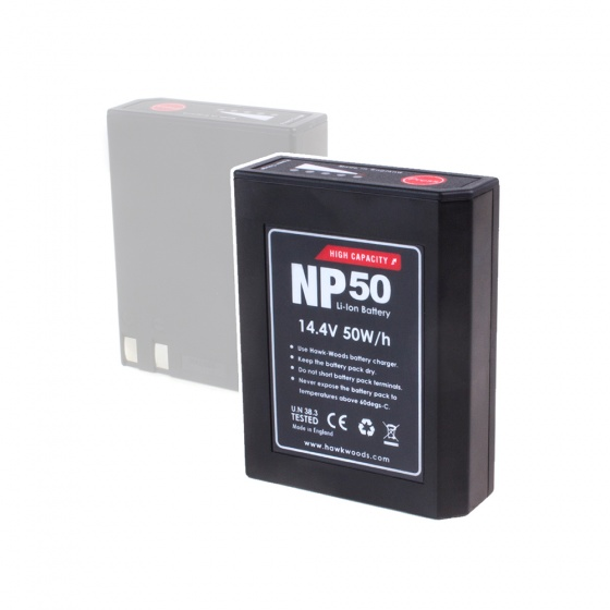 Hawkwoods NP-50 14.4V 50Wh NP1 Lithium-Ion Battery