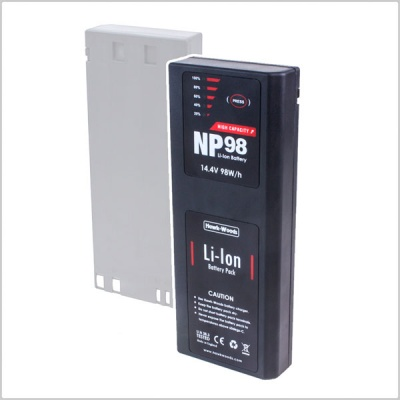 Hawkwoods NP-98 14.4V 98W/h Lithium-Ion NP1 Battery