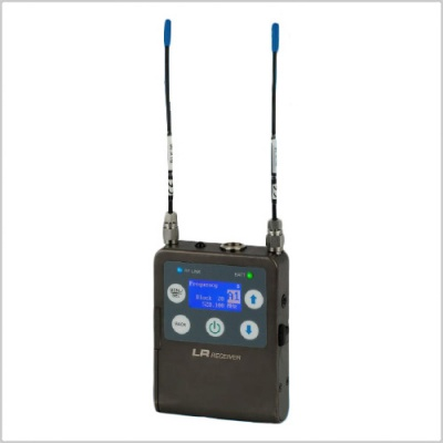 Lectrosonics LR/E01 Receiver Ultra-Compact Digital Hybrid Wireless, Wide Band